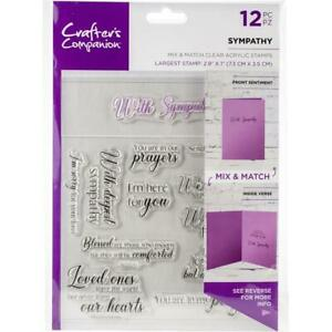 SYMPATHY-Christian-Sentiments-Clear-Stamp-Set