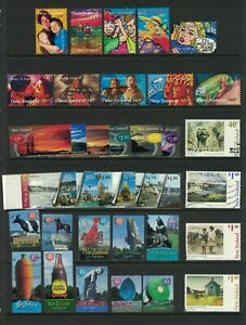 MNZ77-New-Zealand-1998-Stamp-Sets-CTO-Used