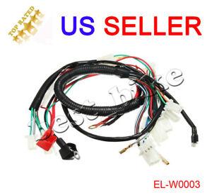pit bike wiring harness house wiring diagram symbols u2022 rh maxturner co Club Car Engine Parts Diagram Xr250 Engine Parts Diagram