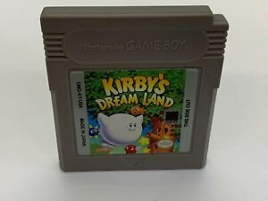 Kirby-039-s-Dream-Land-Nintendo-Game-Boy-1992-Game-Cartridge-ONLY-TESTED