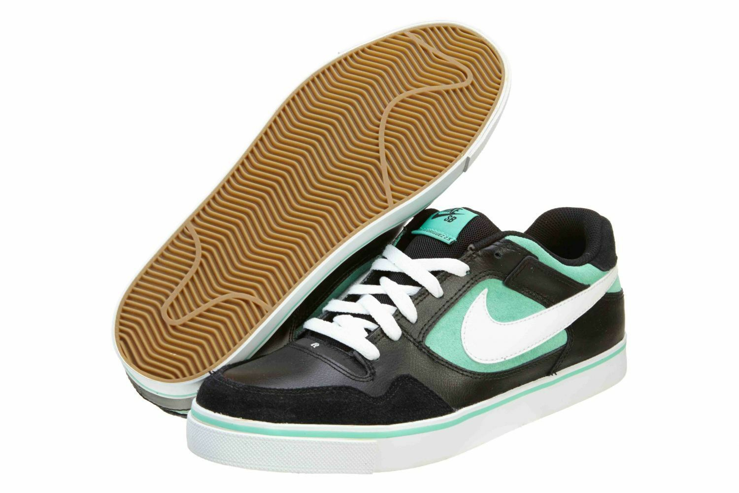 New in Box Size 13 Nike SB Zoom Paul Rodriguez Black White Azure 386613-008