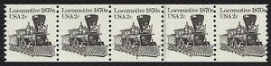 #1897A 2c Locomotive, Pnc 4 ,Nuevo Cualquier 5=