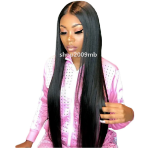 Glueless-Lace-Front-Wigs-Pre-Plucked-Brazilian-Straight-Lace-Wig-With-Baby-Hair