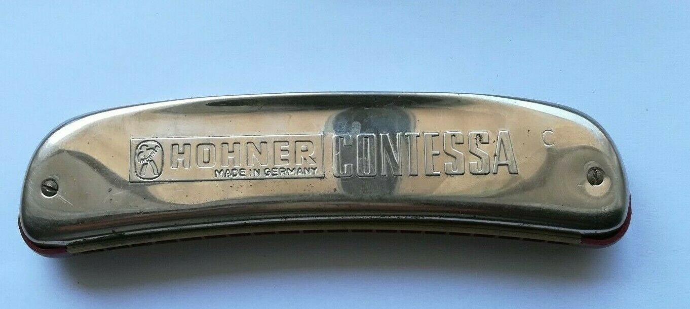 Armonica a bocca Hohner modello contessa made in germany harmonica