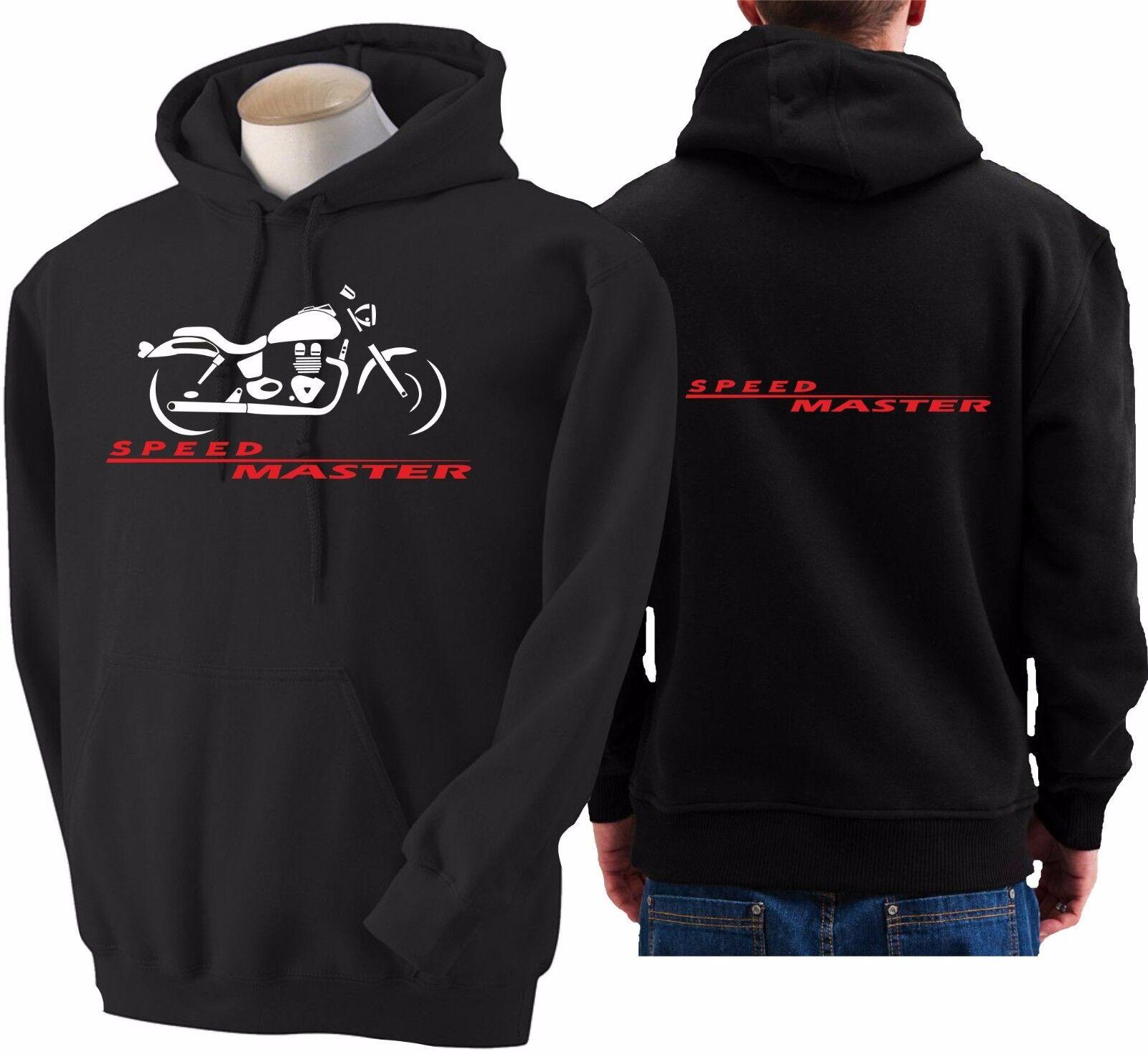 Hoodie for bike TRIUMPH SPEED MASTER sweatshirt hoody Sudadera moto speedmaster