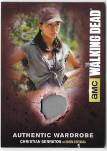 Walking-Dead-Season-4-Costume-Relic-Wardrobe-Card-Rosita-Christian-Serratos-M47