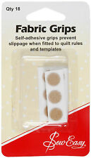 18 Quilters Fabric Grips Self Adhesive - SEW EASY - ER899