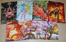 NG:DEV.TEAM Poster Pack Gunlord x 3, Fast Striker x 2 & Pink Bullets Neo Geo AES