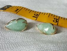 14k jade earrings - Mother's Day Special!