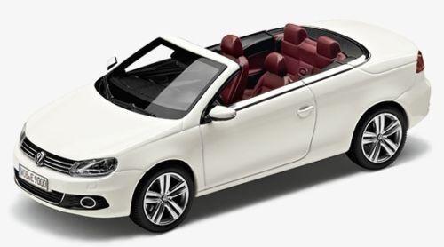VW EOS 1:43 CANDY WEIß MODELL MODELLAUTO NEU ORIGINAL VOLKSWAGEN