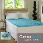 ComforPedic Cool Gel Memory Foam Bed Mattress Topper Cover Pad Beautyrest Queen