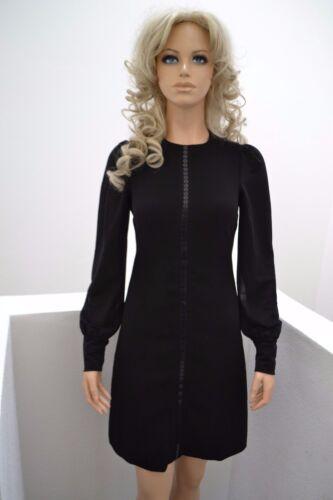 34 Effektvoll linie Schwarz Kleid Dress Xs Catherine A Abend Wolford qnUBRC8wC