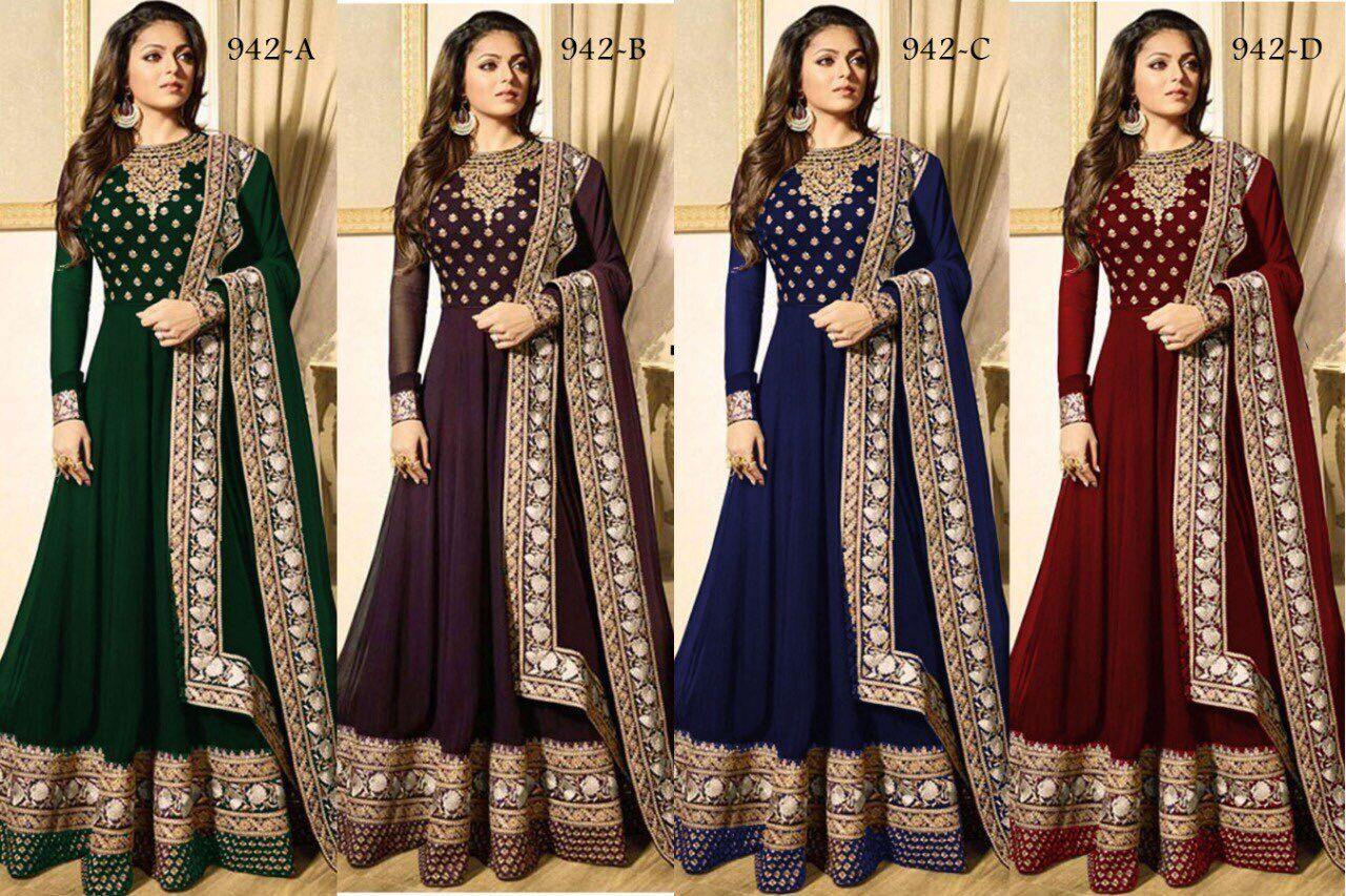Designer Stile Indiano Salwar Kameez Suit Pakistani Stile khameez Salwar Kammez