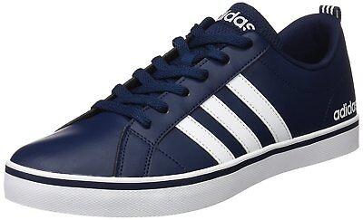 Adidas Hombre Zapatos Zapatillas Elegante Moda Informal Essentials contra Pace | eBay