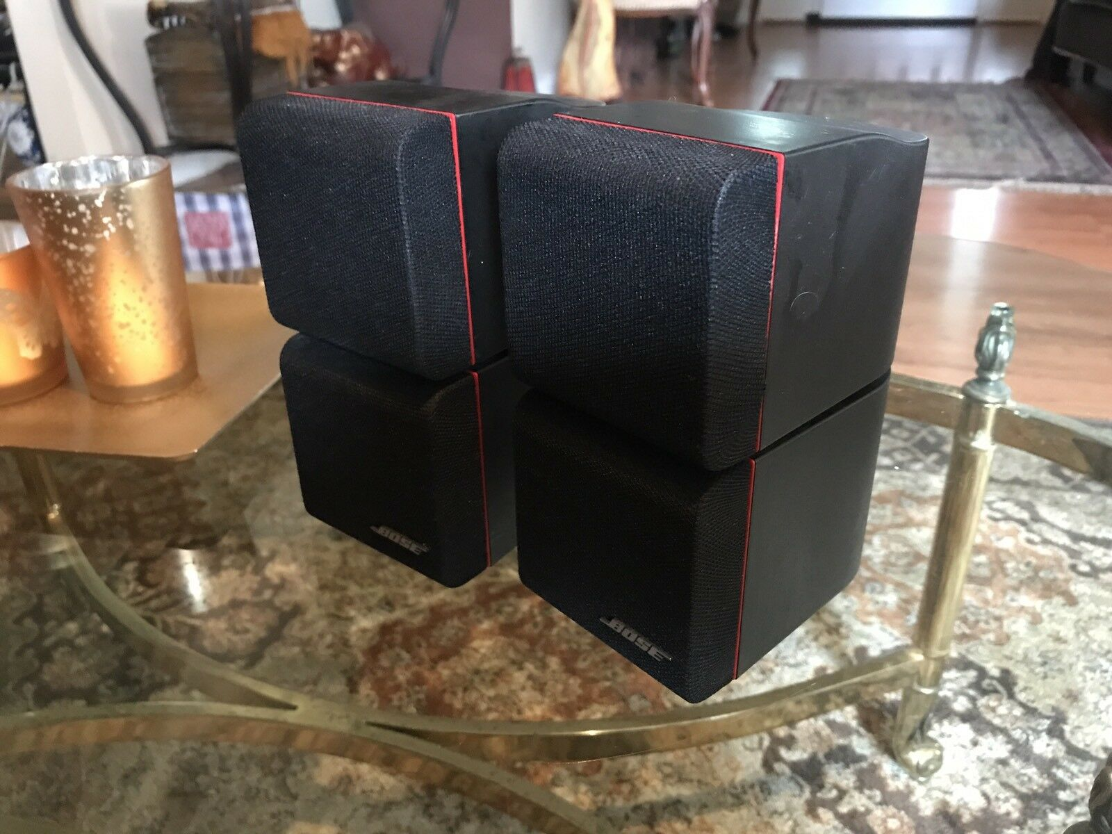 2 x Vintage Bose First Gen Double Cube Speaker Bose Sound Guaranteed Nice