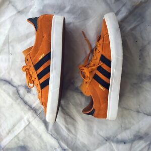 Adidas-Campus-Vulc-II-Gold-Blk-Suede-Men-039-s-Size-7