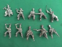 HINCHCLIFFE 25/28mm METAL BRITISH/PRUSSIAN NAPOLEONIC CAVALRY X 10 NEW