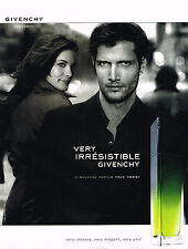 PUBLICITE ADVERTISING 045  2005   GIVENCHY  parfum pour homme VERY