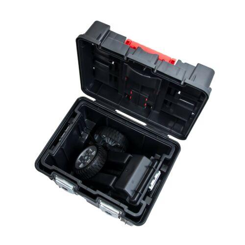 Wheelbox HD Compact Portable Boîte à outils roues grand mobile travaux lourds de conservation