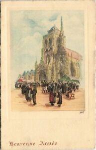 CPA LOCRONAN Eglise (143256)
