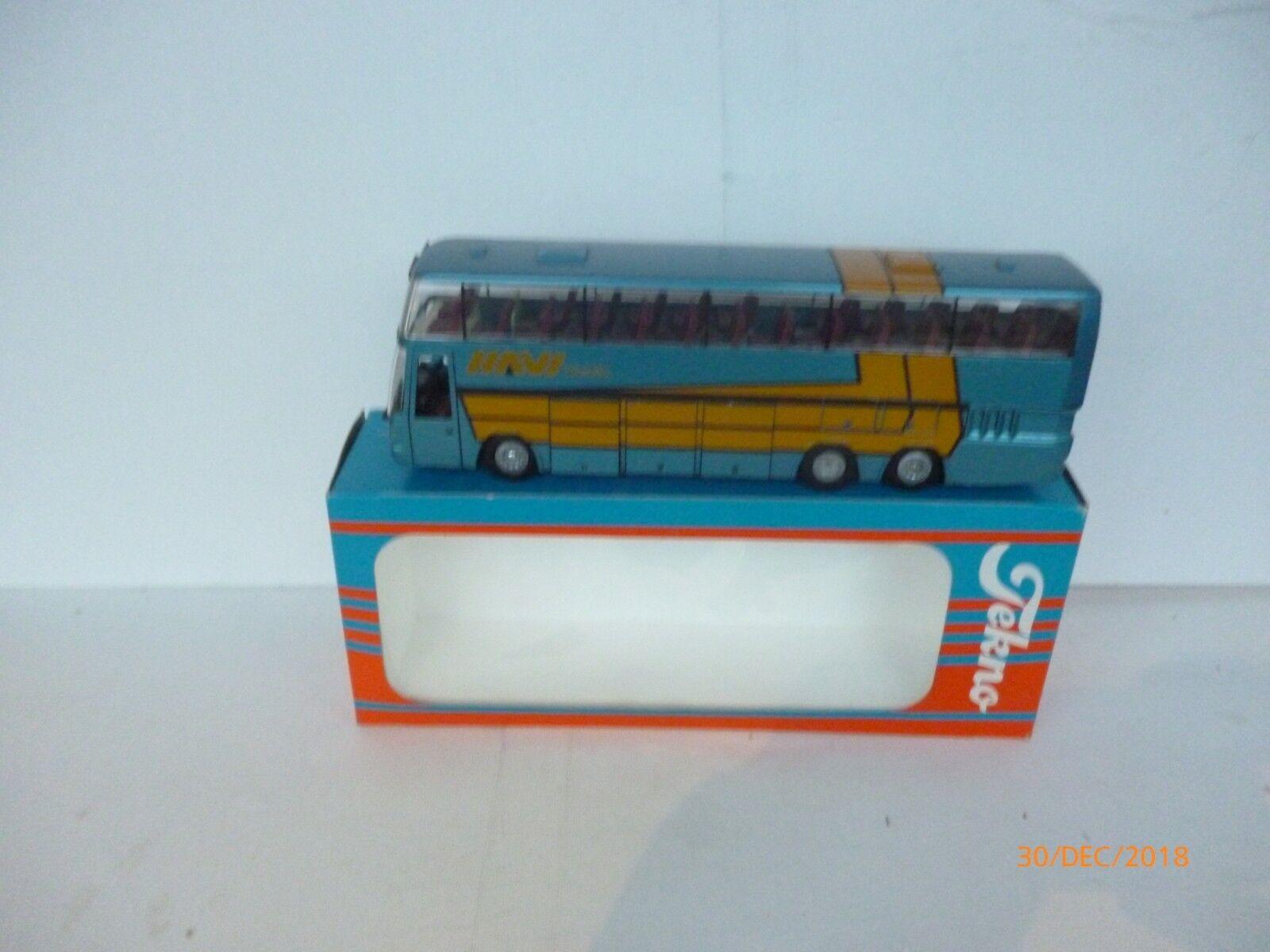 Tekno  DAF SBR 3000 HAVI TRAVEL Bus 1 50  Diecast  Reisebus Doppeldecker  + BOX