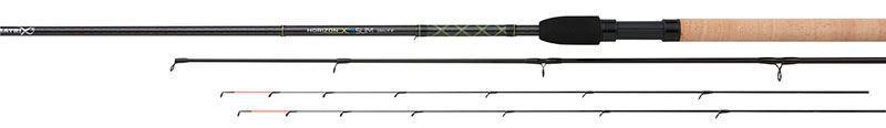 Fox Horizon XS Slim Feeder Rod 11ft 6in inc 2 tips