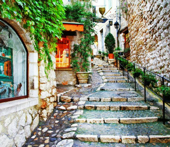 3D Stone Steps 1 Wall Paper Wall Print Decal Wall Deco Indoor wall Murals Wall