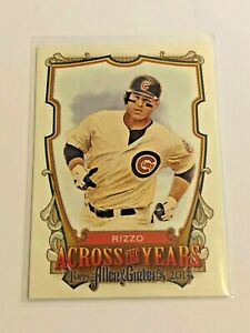 2013-Topps-Allen-amp-Ginter-Baseball-Across-the-Years-Anthony-Rizzo-Cubs