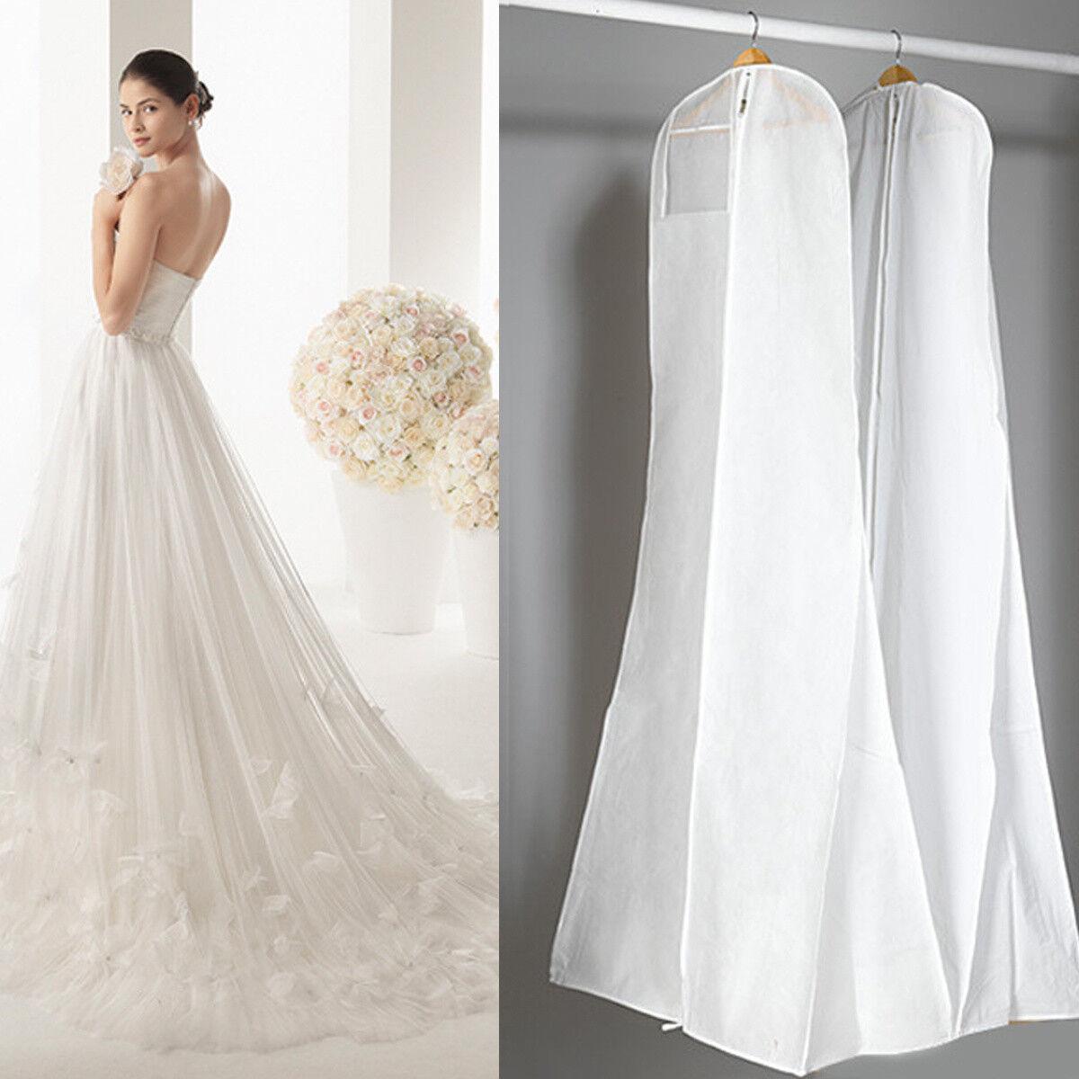 180*80cm Brautkleider Kleidersack Hochzeits Ballkleid Schutzhülle Reisetasche