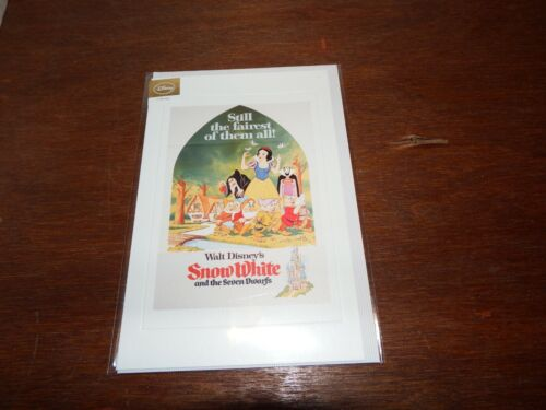 Disney Classics Greetings Card Movie Poster Jungle Snow Cinderella 101 Sleeping