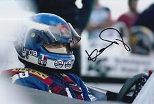 KEKE ROSBERG HAND SIGNED TAG WILLIAMS F1 12X8 PHOTO 1.