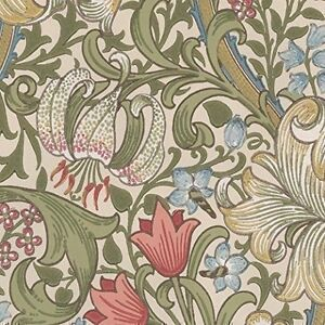 William Morris Golden Lily Wallpaper 210398 Ebay
