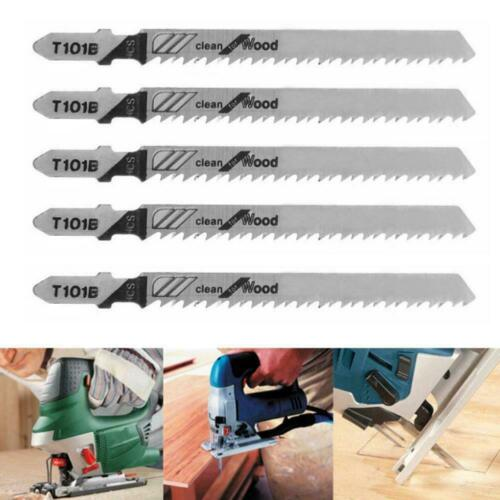 5xT101B Jigsaw Blades Holzschnitt Weichholz /&Hartholz 100 für Bosch Passend F4H6