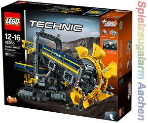 Lego 42055 Technic Schaufelradbagger Bucket Wheel Excavator 2in1
