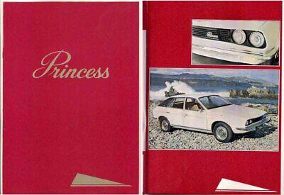 1977 LEYLAND PRINCESS WEDGE 1800 2p International Market Brochure