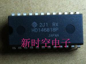 7PCS HD146818P 24PINS RTC REAL TIME CLOCK PLUS RAM INTEGRATED CIRCUIT