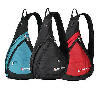 Wenger Swiss Gear Small Chest Bag Outdoor Travel Sport Shoulder Sling Backpack