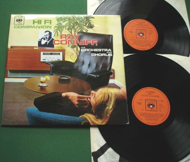 Ray Conniff Orch & Chorus Hi Fi Companion inc As Time Goes By + 66011 LP x 2
