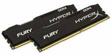 Kingston HyperX FURY 16GB (2 x 8GB) Memory Kit 2400MHz DDR4 Non-ECC CL15 (Black)
