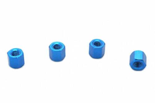 4x m3 5 mm x 5 mm Aluminium Hex espacement Standoff distance Boulons anodisé
