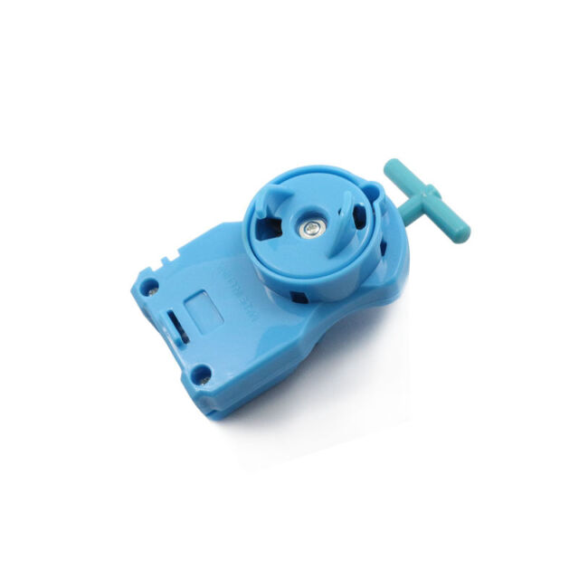 Blue Power String Launcher For Beyblade Metal Fusion Masters Fight