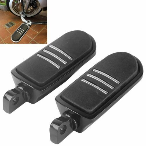 Motorcycle Footpegs Highway Pegs Aluminum Black Foot pegs Footrest Footboards