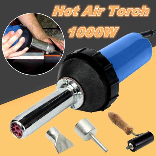 1000W 2800Pa Plastic Welder Integrated Hot Air Gun Welding Rod 220V 50Hz