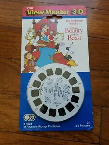 Tyco-View-Master-3-D-Disney-039-s-Beauty-And-The-Beast-1992-Vintage-Sealed-H