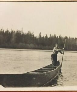 Postcard-1912-Fraser-River-Fort-George-Rowing-Boat-On-The-Water-Vintage-P12