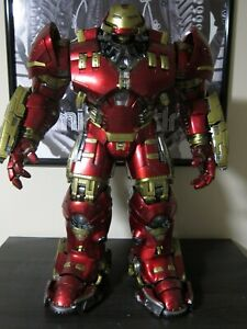 HOT-TOYS-FIGURE-USED-MMS-285-MARVEL-AVENGERS-AGE-OF-ULTRON-HULKBUSTER