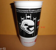 STAR WARS the FORCE AWAKENS exclusive THEATER DRINK CUP coca cola amc EP 7