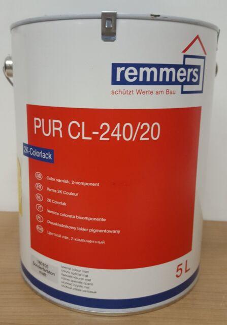 Remmers PUR CL-240/20 CL-240/30 2K-Colorlack Decklack matt halbmatt Möbel Holz