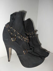 Topshop-Anya2-suede-peep-toe-chain-platform-boots-Size-6-39