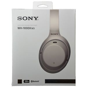 Details about Sony WH-1000XM3 WH1000XM3 Wireless Bluetooth Noise-Canceling  Headphones - Silver
